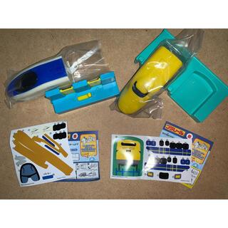 トミー(TOMMY)のプラレール ハッピーセット 2種類(電車のおもちゃ/車)