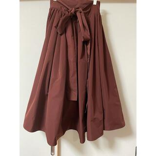 ドゥロワー(Drawer)の【SHE Tokyo】フロントリボン スカート (ロングスカート)