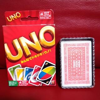 ウーノ(UNO)のカードゲーム★UNO&トランプ★2個セット★ウノ★ゲーム(トランプ/UNO)