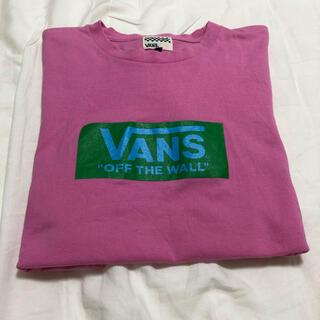 VANS - VANS Tシャツ Lサイズ ピンク