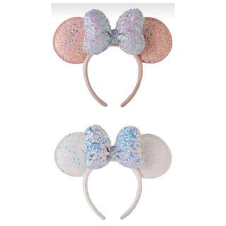 Disney - 購入済 ディズニーシー20周年  カチューシャ スパンコール タイムトゥシャイン