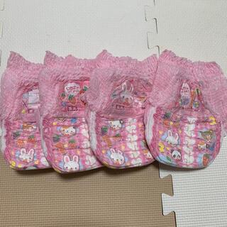 ユニチャーム(Unicharm)のトレパンマン 女の子用 Lサイズ 4枚(トレーニングパンツ)