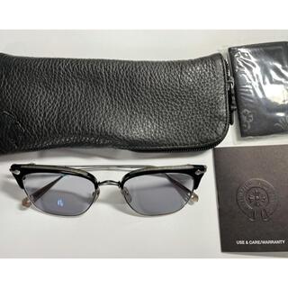 Chrome Hearts - クロムハーツ SLUNTRADICTION アイウェア ブラック 眼鏡 メガネ