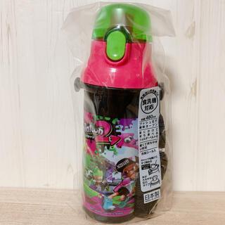 スプラトゥーン☆480ml プッシュ式 直のみスポーツボトル(水筒)