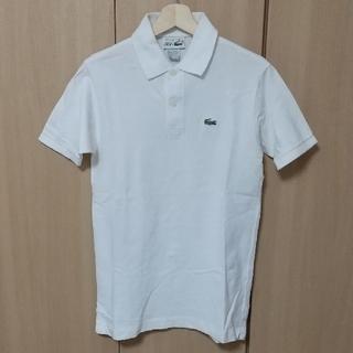 LACOSTE - 【希少・未使用】CHEMISE LACOSTE フランス製 ポロシャツ 白