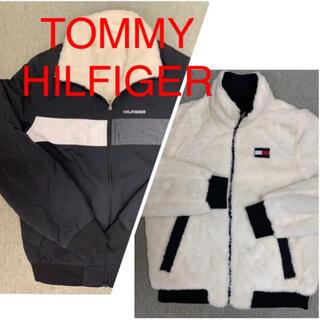 トミーヒルフィガー(TOMMY HILFIGER)の《ほぼ新品》TOMMY HILFIGER リバーシブルJKT ナイロン×ボアSP(ブルゾン)