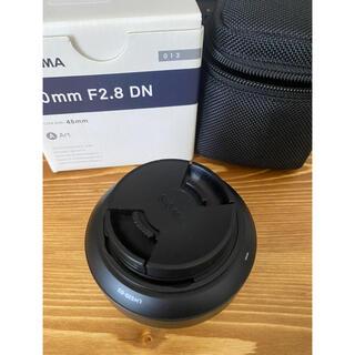SIGMA - SIGMA 30F2.8 DN/SE ブラック