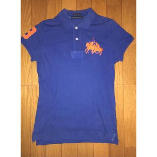 ラルフローレン(Ralph Lauren)のRalph Lauren ラルフ ローレン スキニーポロシャツ ブルー S(ポロシャツ)