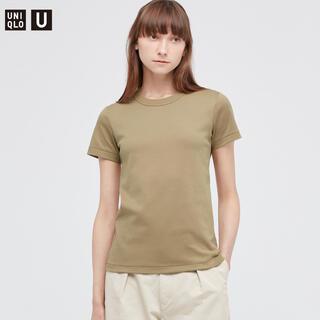 UNIQLO - ★UNIQLO U クールネックTシャツ(半袖)