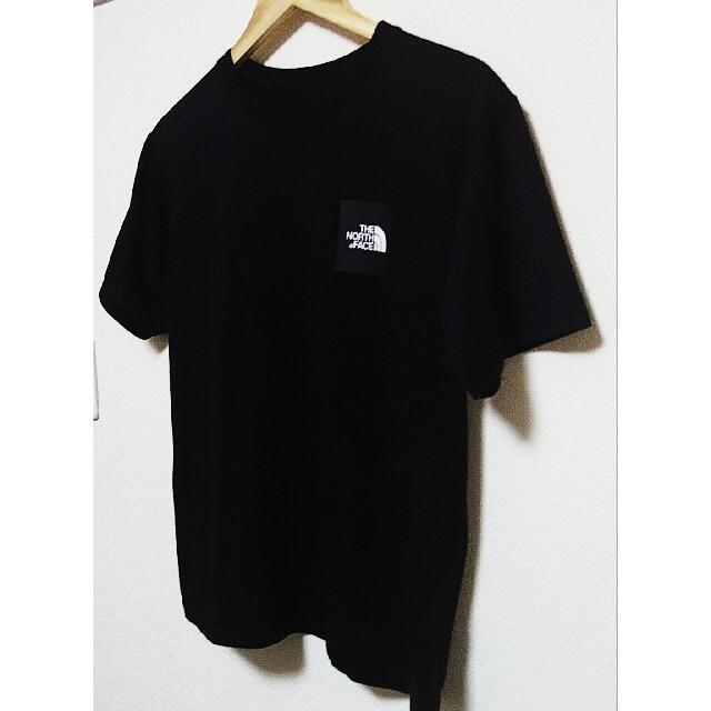 THE NORTH FACE(ザノースフェイス)の【紫陽花様専用】【ノースフェイス】 スクエアロゴTシャツ メンズのトップス(Tシャツ/カットソー(半袖/袖なし))の商品写真