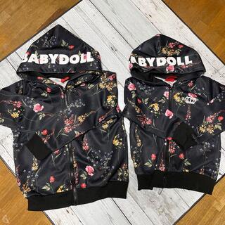BABYDOLL - ベビードール パーカー 100.120センチ