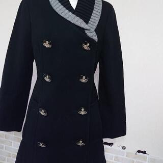 Vivienne Westwood - 美品 ヴィヴィアンウエストウッドMサイズオーブボタンコートクリーニング済
