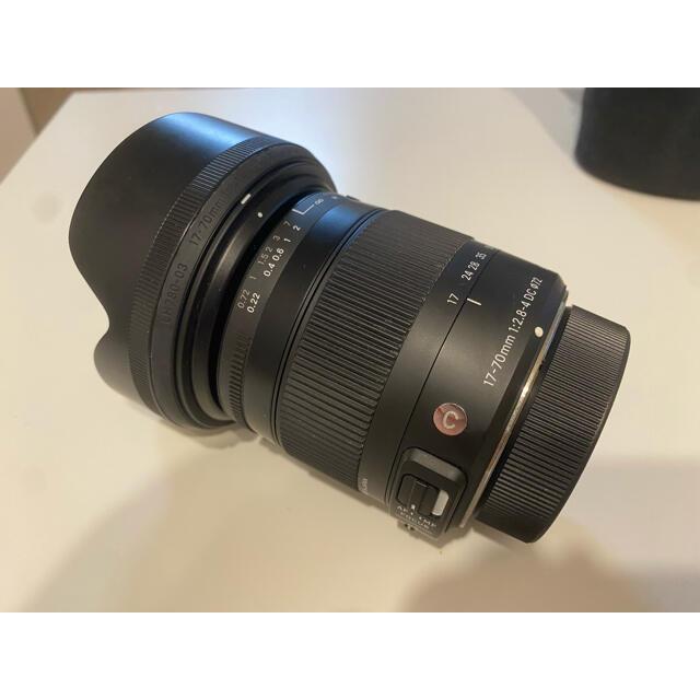 SIGMA(シグマ)のSIGMA 17-70mm F2.8-4 DC  [ニコン用]  スマホ/家電/カメラのカメラ(レンズ(ズーム))の商品写真