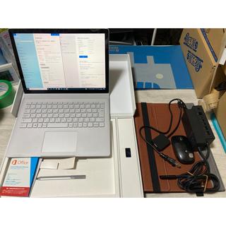 マイクロソフト(Microsoft)のおまけ付 Surface Book i7/512GB/16GB/GPU搭載(タブレット)