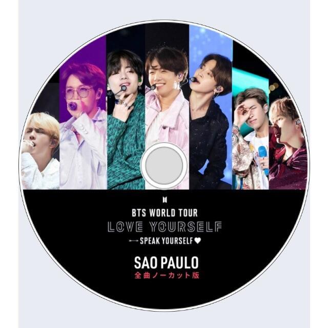 防弾少年団(BTS)(ボウダンショウネンダン)のBTS WORLD TOUR LOVE YOURSELF SAO PAULO エンタメ/ホビーのDVD/ブルーレイ(アイドル)の商品写真