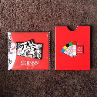 エスケーツー(SK-II)のsk-ⅱ  ピンバッジ(バッジ/ピンバッジ)