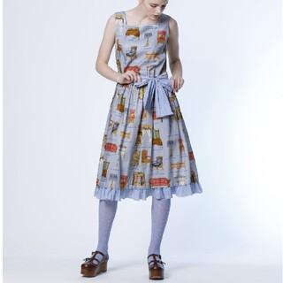 JaneMarple - ジェーンマープル Noble furnitureスリーブレスドレス  美品