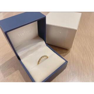 JEWELRY TSUTSUMI - k18YGダイヤモンドリング 0.50カラット