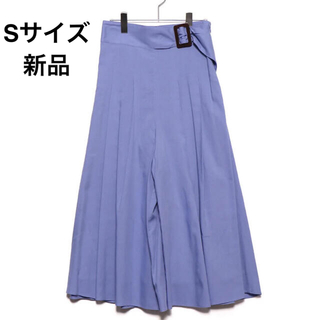 ミラオーウェン(Mila Owen)のミラオーウェン Mila Owen ベルトデザインスカート見えガウチョパンツ(カジュアルパンツ)