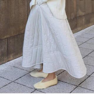 【新品未使用】machatt  キルティングスカート