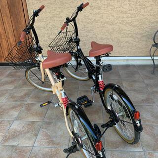 折畳み自転車 未使用品 ブラック