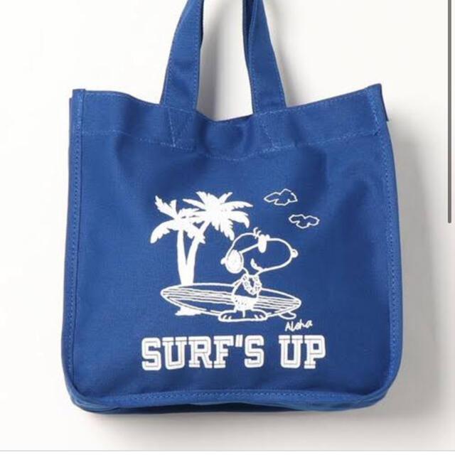 SNOOPY(スヌーピー)のスヌーピー バック レディースのバッグ(エコバッグ)の商品写真