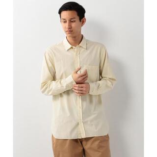 ユナイテッドアローズ(UNITED ARROWS)の定価14300円 UNITED ARROWS ソリッドオーバーダイシャツ L(シャツ)