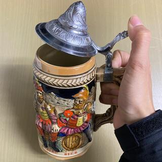 サッポロ(サッポロ)の【サッポロ】★アンティーク陶器ビアマグ(グラス/カップ)
