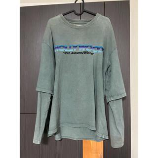 "DAIRIKU 20aw ""HOLLYWOOD"" Layered T-shirt"