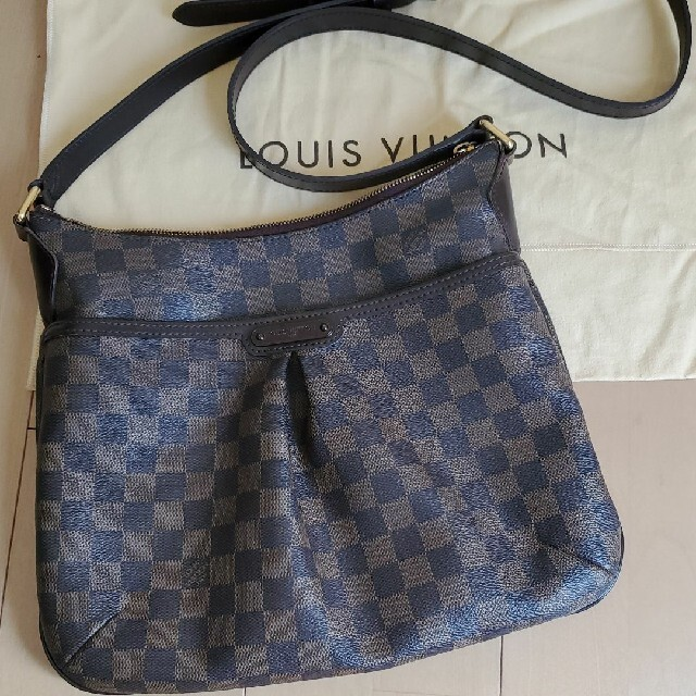 LOUIS VUITTON(ルイヴィトン)のイタリア購入 正規品 ルイヴィトン ダミエ ブルームズベリー PM レディースのバッグ(ショルダーバッグ)の商品写真
