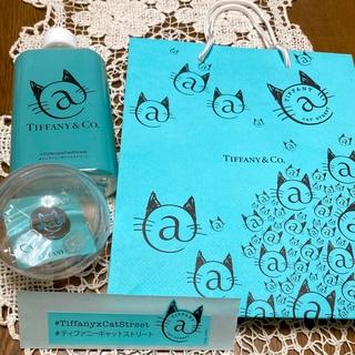 ティファニー(Tiffany & Co.)のTiffany 原宿限定 ショッパー+ペットボトル+ピンバッジ+ステッカー(ノベルティグッズ)