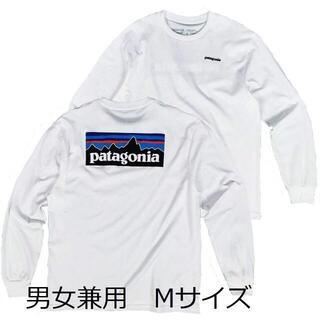 patagonia - パタゴニア 長袖 ロンT 白 M ベストセラー アウトドア キャンプ 登山