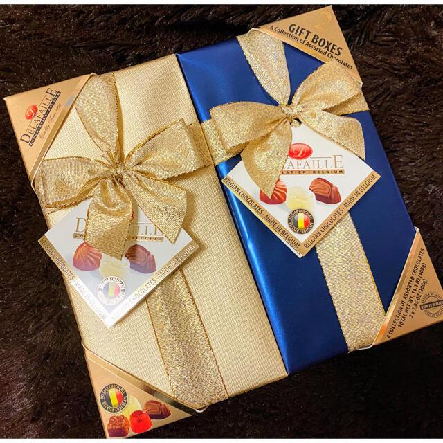 コストコ(コストコ)の【コストコ】デラファーレ ギフトボックス ベルギーチョコレート菓子 詰め合わせ 食品/飲料/酒の食品(菓子/デザート)の商品写真