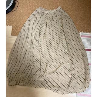 フェリシモ(FELISSIMO)の【ほぼ新品・未使用】FELISSIMO 2WAY スカート(ロングスカート)