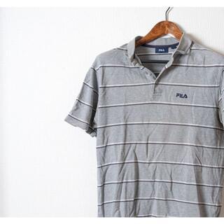 フィラ(FILA)のFILA フィラ ポロシャツ ボーダー 半袖(ポロシャツ)