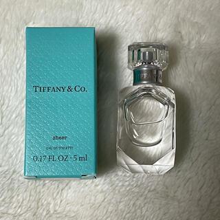 ティファニー(Tiffany & Co.)のティファニー シアー オードトワレ 5ml 香水(香水(女性用))