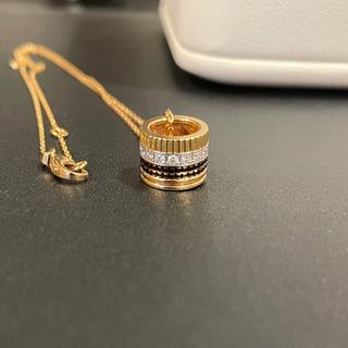 BOUCHERON - 美品ブシュロン キャトル クラシック ダイヤ ペンダント ネックレス