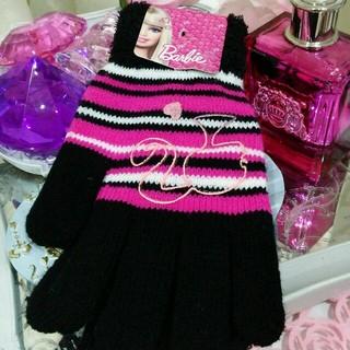 バービー(Barbie)の☆新品未使用❤バービーBarbie❤手袋です❗(手袋)