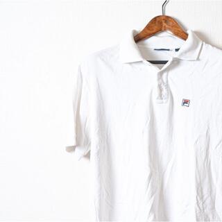 フィラ(FILA)のFILA フィラ ポロシャツ 白 半袖(ポロシャツ)