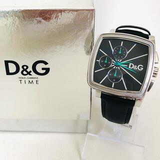 DOLCE&GABBANA - 美品 DOLCE&GABBANA  D&G アナログ 腕時計