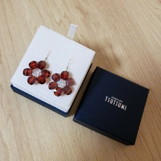 ジュエリーツツミ(JEWELRY TSUTSUMI)のジュエリーツツミ K18 YG ビーズ お花 ピアス(ピアス)