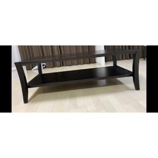 【引渡送料無料】収納付 センターテーブル ローテーブル