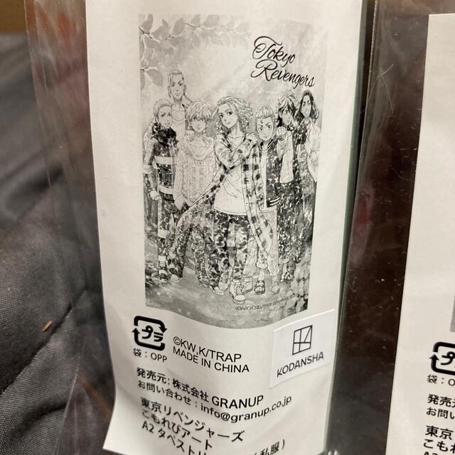 講談社(コウダンシャ)の東京リベンジャーズ こもれびアート A2 タペストリー 2種類セット エンタメ/ホビーのおもちゃ/ぬいぐるみ(キャラクターグッズ)の商品写真
