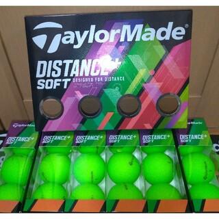 TaylorMade - 【新品】テーラーメイド ゴルフ ボール ディスタンス+ ソフト グリーン 18個