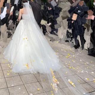 タカミ(TAKAMI)の結婚式 ウェディングベール ロングベール(ヘッドドレス/ドレス)