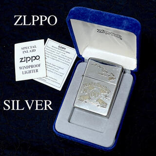 ジッポー(ZIPPO)のZIPPO/ジッポー  シルバー 60周年記念 限定 2000年製(タバコグッズ)