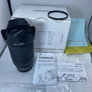 TAMRON - タムロン 28-75mm F/2.8 Di III RXD ソニーEマウント用