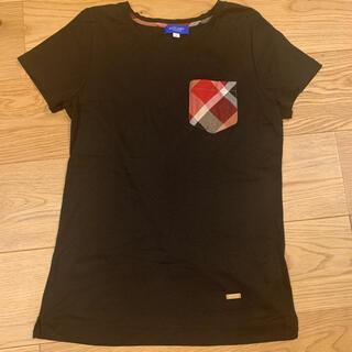 BURBERRY BLUE LABEL - ブルーレーベルクレストブリッジ 半袖Tシャツ サイズ38