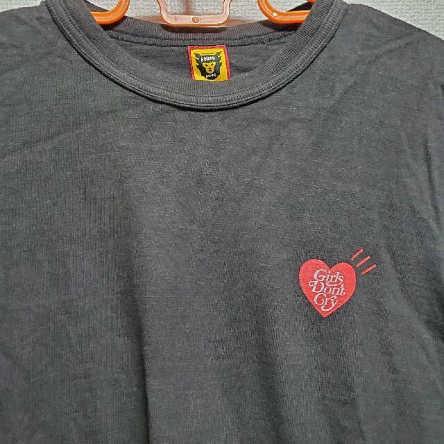 付属品有 レシートコピー付属 ヒューマンメイド&ガールズドントクライ コラボT メンズのトップス(Tシャツ/カットソー(半袖/袖なし))の商品写真