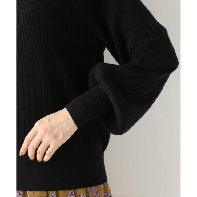 IENA(イエナ)のIENA 【TORRAZZO DONNA/トラッゾドンナ】ボウタイリブニット レディースのトップス(ニット/セーター)の商品写真